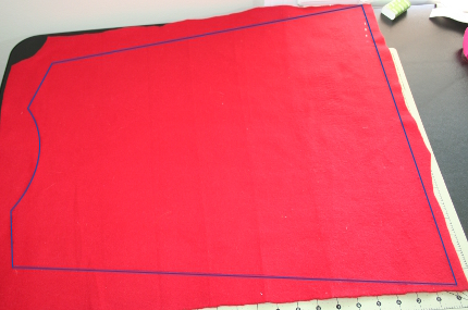 children cape pattern