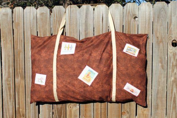 suitcase pillowcase
