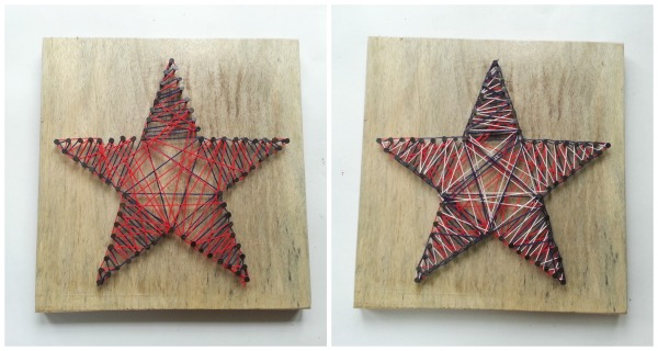 Make A 4th of July Star String Art - Holiday Crafts - craftbits.com