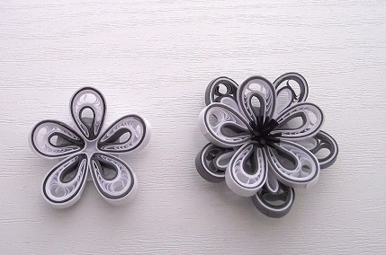 """"""" \""""quilled malaysian flower tutorial\"""""""""""