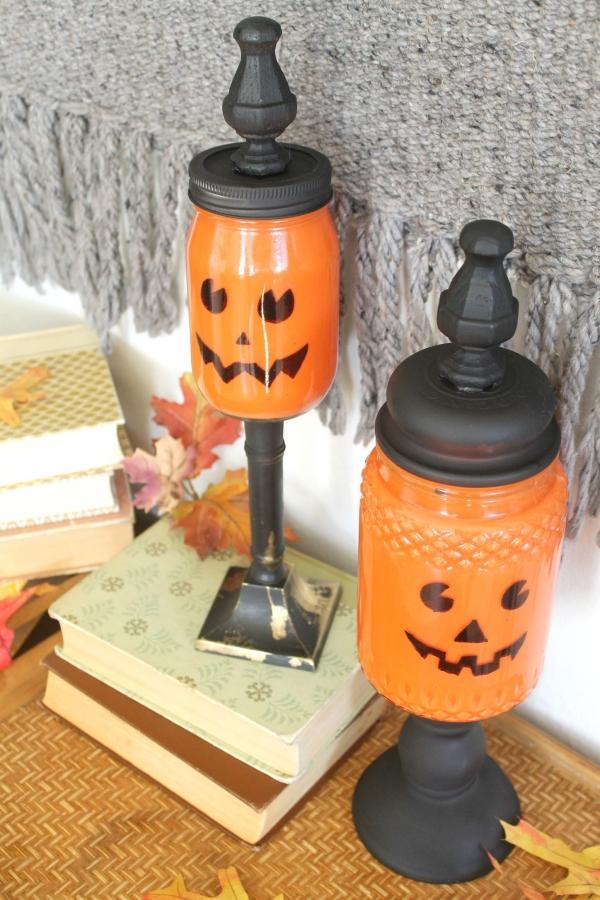 pumpkin mason jars (3)