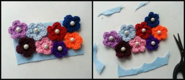 flower necklace step-3