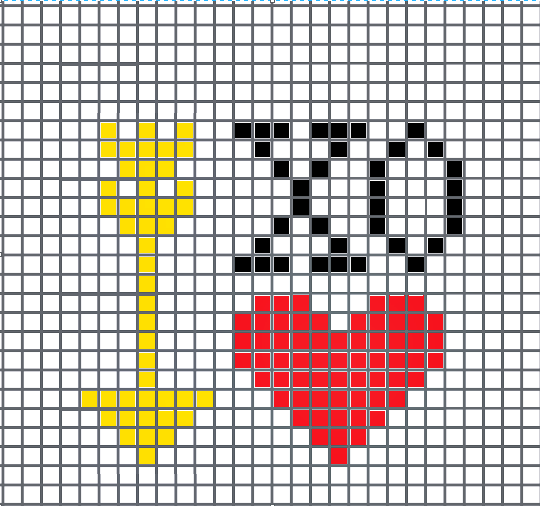 heart-arrow-xo cross stitch