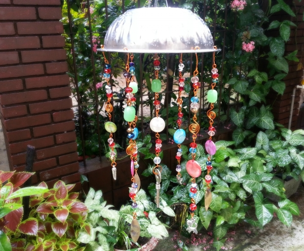 Recycled Junk Wind Chime