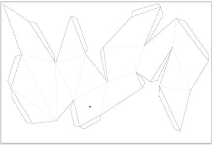 paper crystal pattern 01