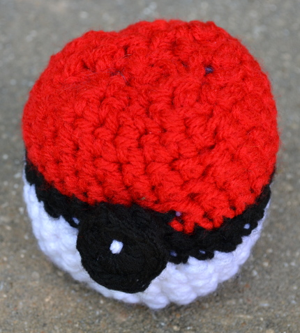 pokeball crochet pattern