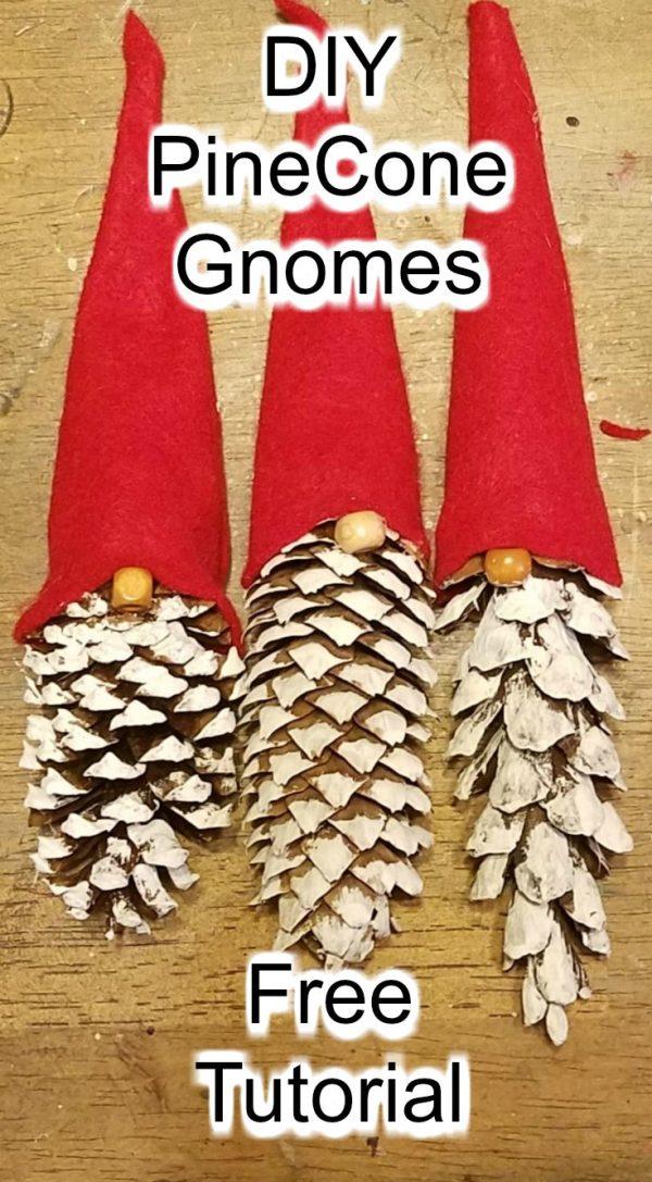 Diy Pinecone Gnomes Craftbits Com